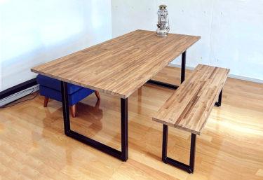 引っ越したのでダイニングテーブルセット自作した。【DIY設計図あり】