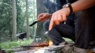 ソロキャンプでパーゴワークス ニンジャファイアスタンド3ヶ月使ったレビュー【ソロキャンプ道具焚き火台】